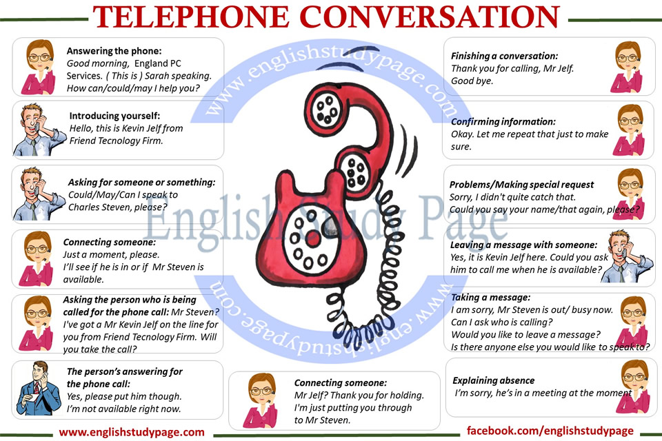 telephone conversation