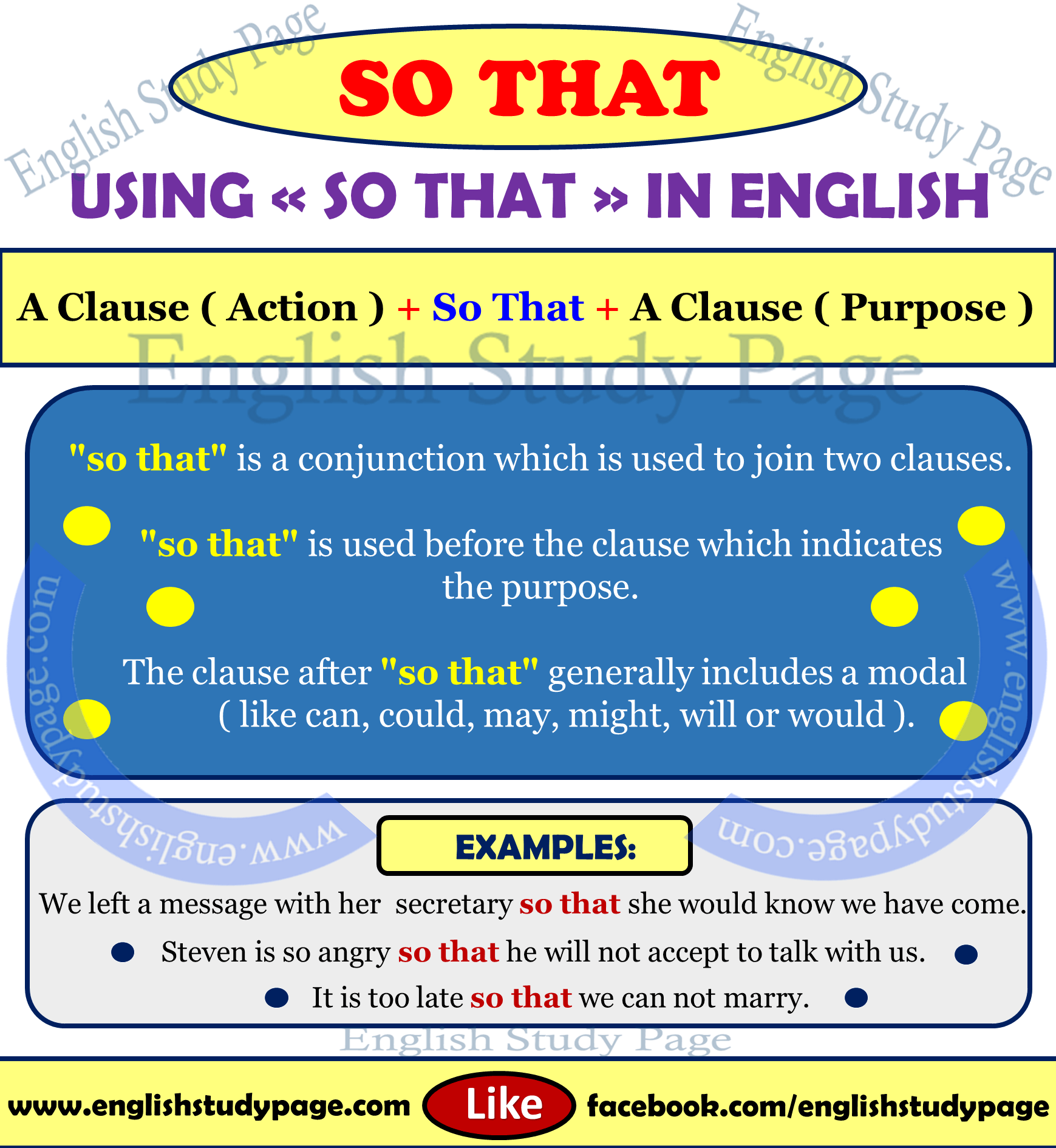 Using  U0026quot So That U0026quot  In English