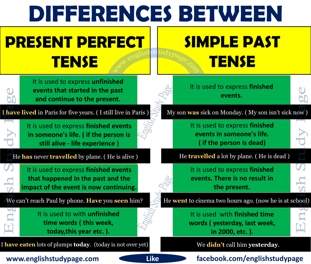 SIMPLE PAST TENSE - English Study Now