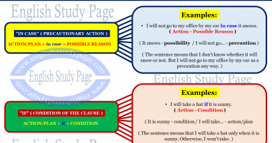 If Clauses - Type 2 - English Study Page