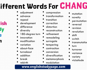 Basic Opposite Words In English English Study Page